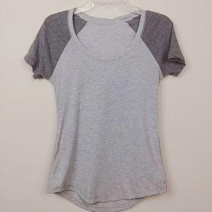Lululemon | Colorblock Gray T-shirt